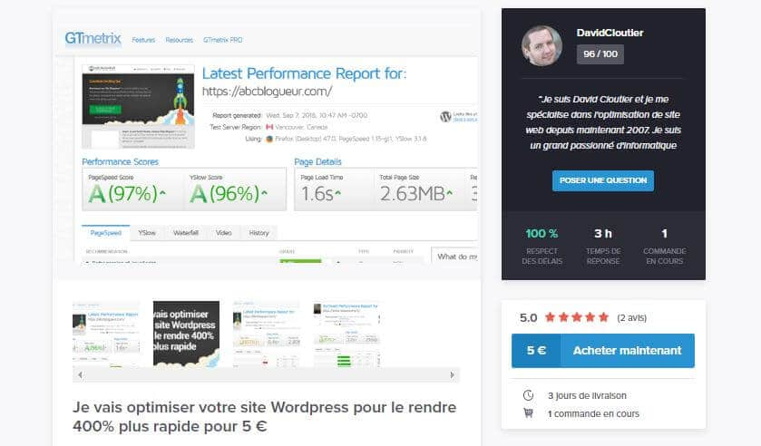 optimisation-site-wordpress-5-euros