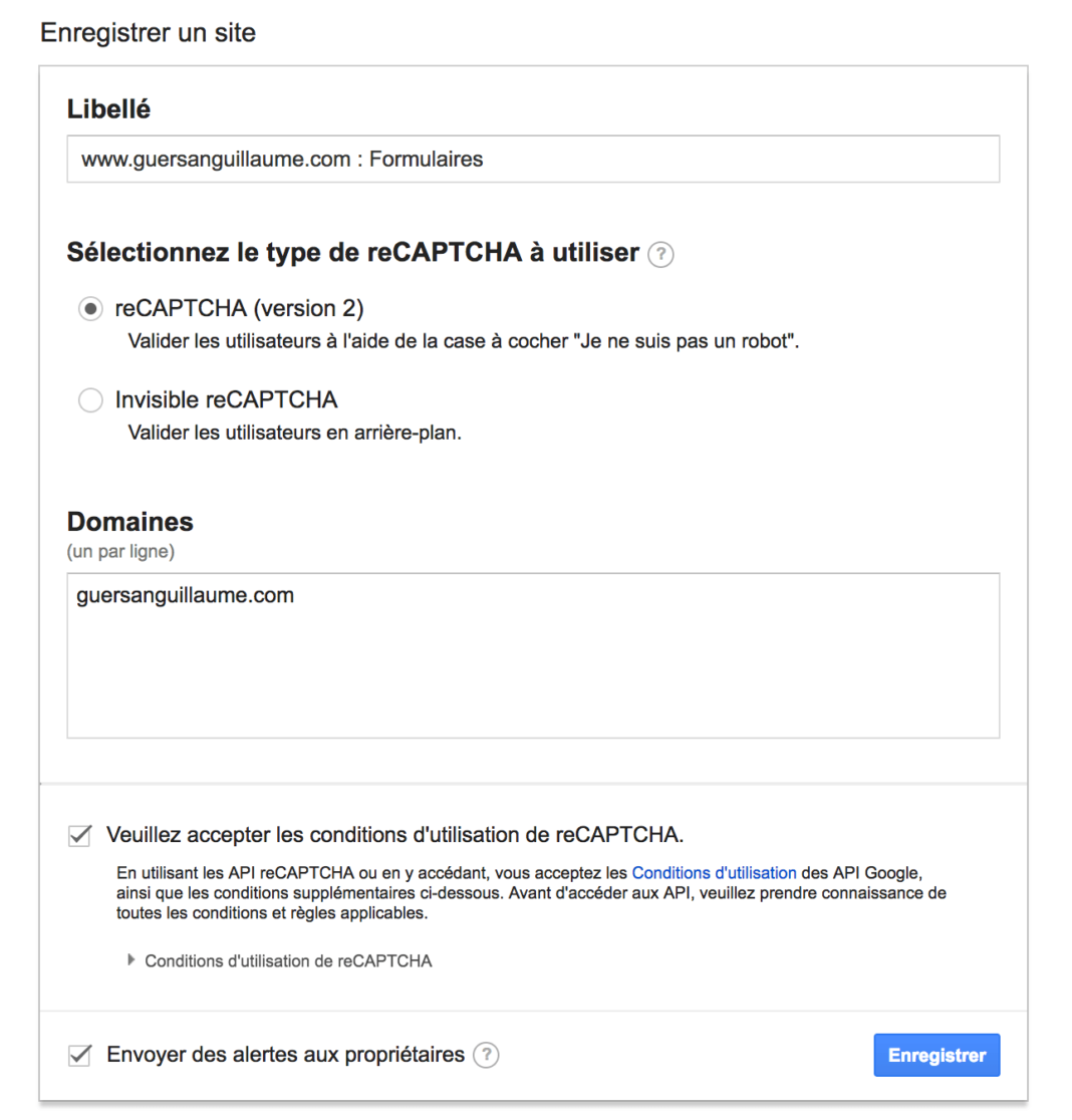 activer-google-recaptcha-wordpress