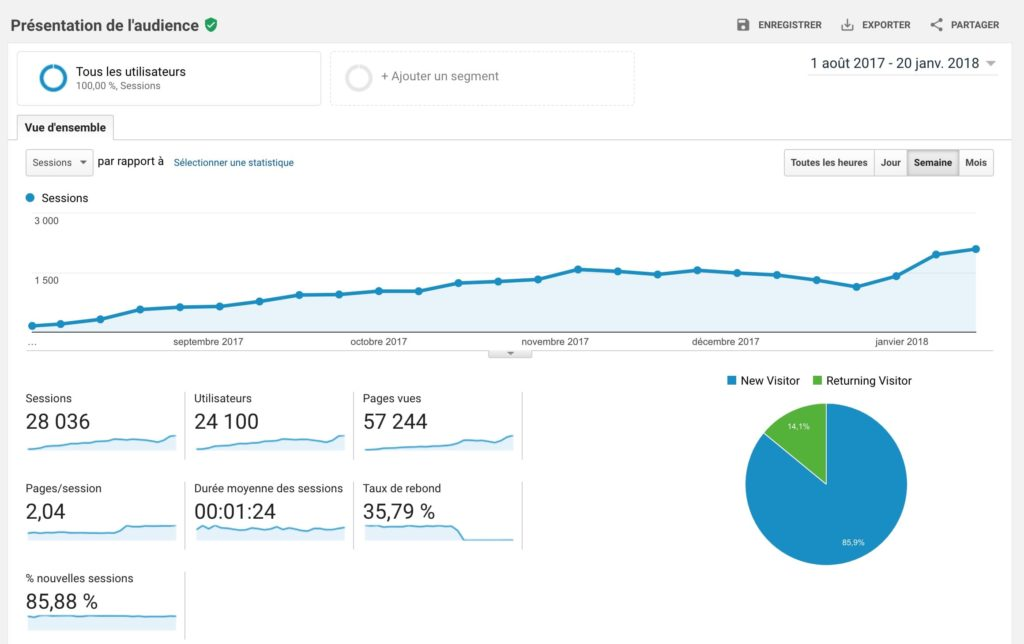 guillaume guersan site google analytics