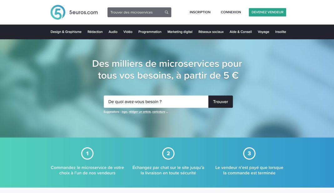 plateforme freelance 5euros com