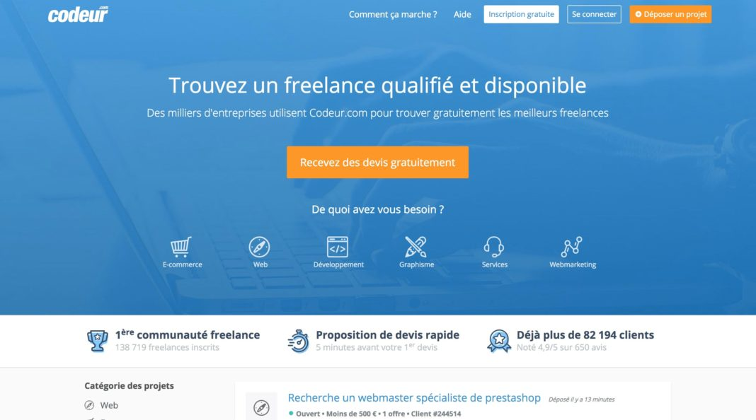plateforme freelance codeur