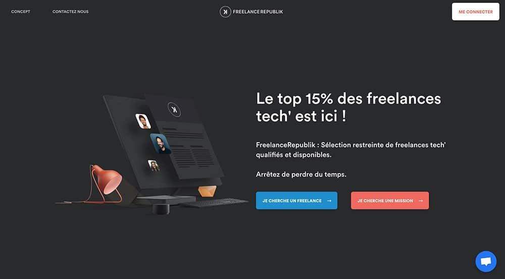 plateforme freelance informatique freelancerepublik