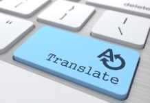 site multilingue traduction texte professionnelle