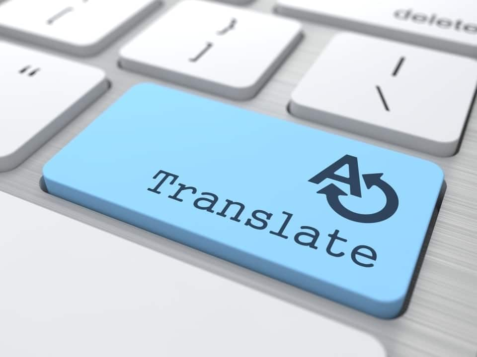 site multilingue traduction texte professionnelle