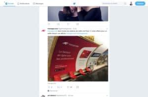 exemple publicité twitter ads